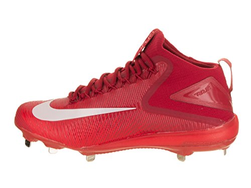 Nike Zoom Trout Crampons De Baseball Crampons Pour Hommes Taille 9.5 (rouge, Blanc)