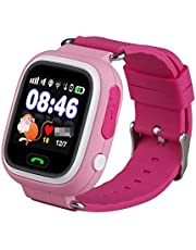 Sausiry TD02 Kids Touch Screen Smart Watch with Calling, Chat and Wi Fi and Gps kids