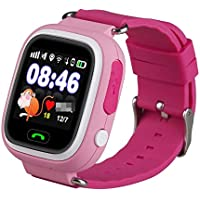 TD02 Kids Touch screen Smart Watch with Calling, Chat and Wi Fi and gps kids tracker