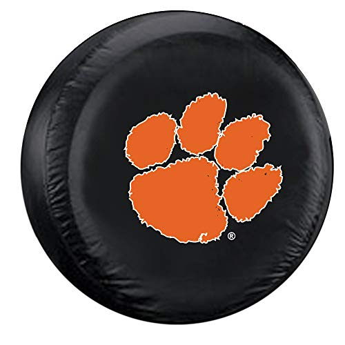 Fremont Die NCAA Clemson Tigers Tire Cover, Large Size (30-32