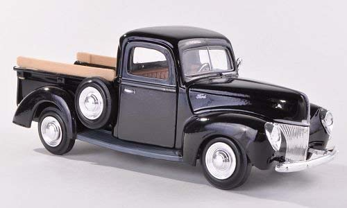 1940 Ford Pickup Truck 1:24 Diecast Model - Black - Ford Truck 1940