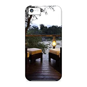 DaMMeke Snap On Hard Case Cover Romance Protector For Iphone 5c