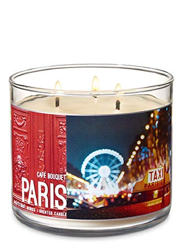 - Bath & Body Works 3-Wick Scented Candle in Cafe Bouquet Paris
