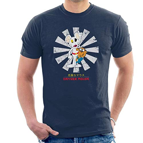 Danger Mouse T-shirt - Danger Mouse Retro Japanese Men's T-Shirt