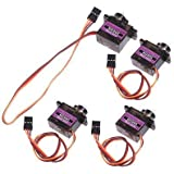 TowerPro MG90S Metal Geared Micro Servo For RC Car Boat Plane Helicopter T-Rex Trex450 x 4 PCS