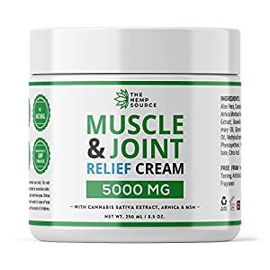 Hemp Muscle & Joint Relief Cream 5000MG | Natu...