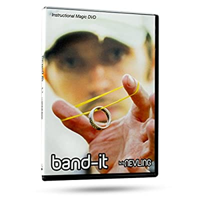 Band-It Instructional Magic DVD with Magician Kris Nevling - Ultimate Rubber Band & Ring Illusion Magic Trick: Toys & Games