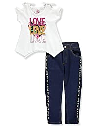 Real Love Girls' 2-Piece Pants Set Outfit
