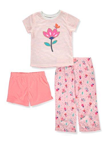 Carter's Baby Girls' 3-Pc. Floral Pajama Set 2T