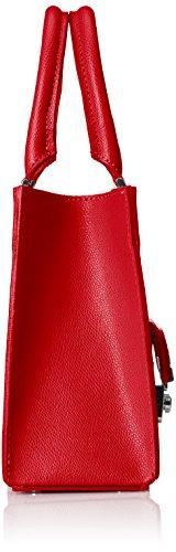 Borse 8655 Donna Chicca Rosso Rossa Della Borsa rosso 6qUAFAW