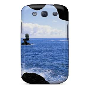 New Shockproof Protection Case Cover For Galaxy S3/ View From Inside A Sea Cave Costa Rica Case Cover