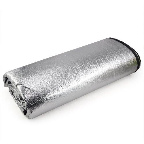 TOOGOO(R) Hot 200 x 200cm feuchtigkeitsbestaendige Matte feuchtigkeitsfest Pad Double Side ItS7 Aluminium-Film