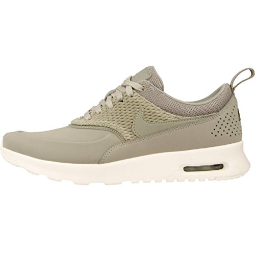 Femme Basses Nike Sneakers Vert Max Premium Leather Air Thea qnqRg07A