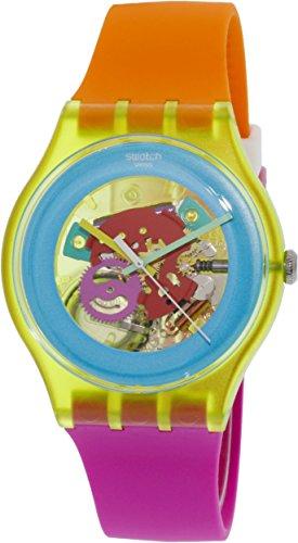 Swatch Unisex SUOJ101 Originals Analog Display Swiss Quartz Two Tone Watch