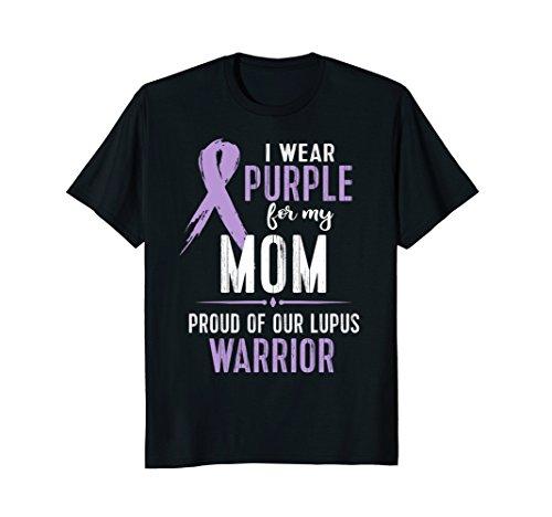 Lupus Awareness Shirt Support My Mom Lupus Warrior ()