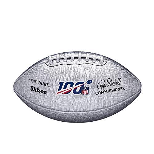Wilson NFL100 The Duke Metallic Football