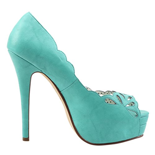 Leather Up Faux Teal Pin 30 Couture Bella F3TlKc1J