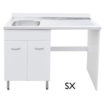 Dianhydro Meuble Sous évier Inox 60 Cm Pour Lave Vaisselle 60 Cm X H