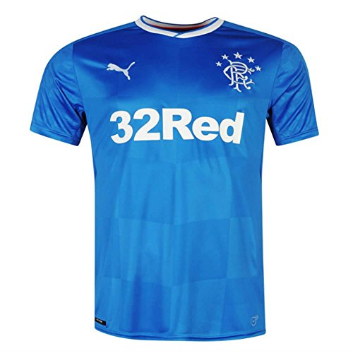 PUMA Glasgow Rangers Home Shirt 2017/18-Small Adults