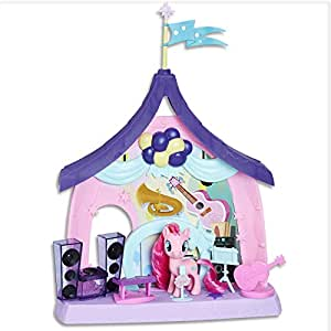 my LITTLE PONY - Pinkie Pie Beats & Treats Magical Classroom Playset with Sounds - Electronic Kids Toys - Ages 3+