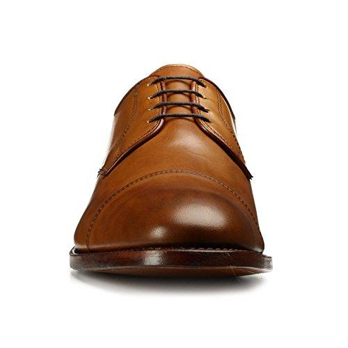 Allen Edmonds Mens Lexington Cap Toe Dress Shoes Walnut Burnished Calf 5nVPE
