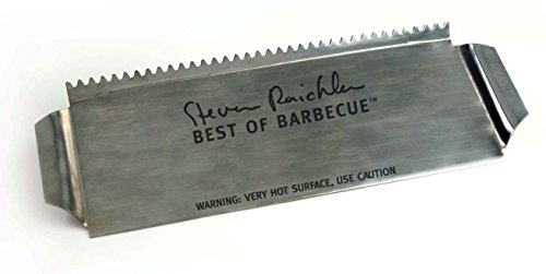 Steven Raichlen Best of Barbecue Stainless Grill Shield for Skewers