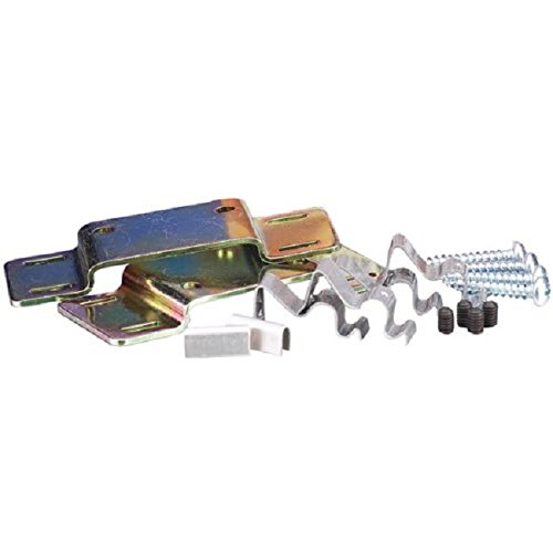 Install Essentials 524CL Cabled Door Bracket Kit - 2 Pack