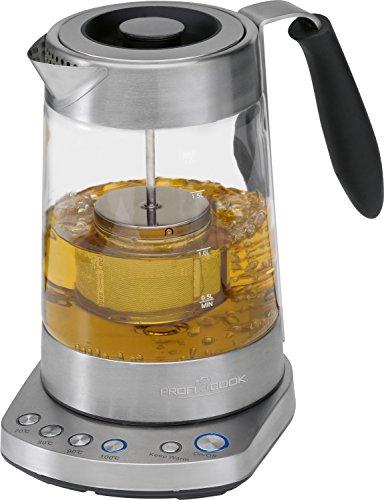 Profi Cook PC-WKS 1020 G Glas- Tee- Wasserkocher 2 in1