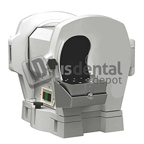 PEGASUS - DOUBLE DISC 1/2HP Model Trimmer 10 inches - 3200rpm automatic 110vol - # JT-19S - 44cm x 35cm x 35cm - ( dual ) [ Hoses are included: Flexible/Retractable Drainin 118758 Us Dental Depot by Pegasus