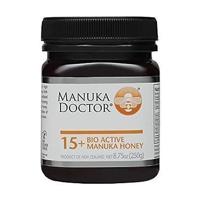 Manuka Doctor Bio Active Honey, 15 Plus, 8.75 Ounce by Manuka Doctor