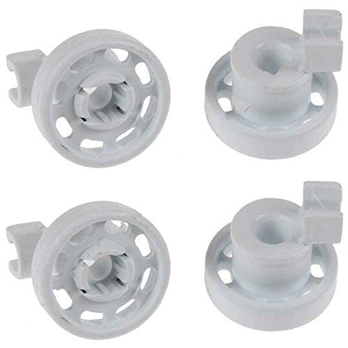 Juego de 4 ruedas para cesta superior de lavavajillas Bosch Neff ...