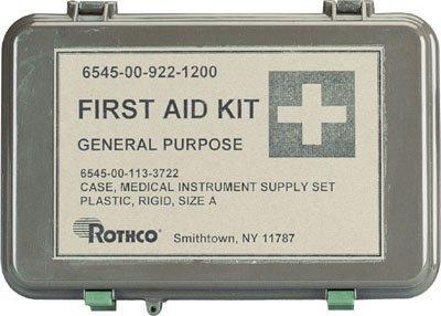 Olive Drab Waterproof General Purpose Military First Aid Kit