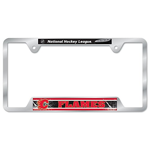 NHL Calgary Flames Metal License Plate Frame