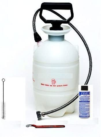Keykeg Beer Line Cleaning Bottle 5L
