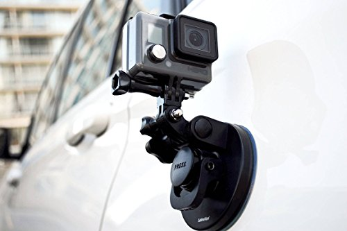Suction Cup for Gopro Mount Car Windshield Window Vehicle Boat Camera Holder for Gopro Suction Cup Mount Windshield Mount - for GoPro Max 360 Hero 8 Black Hero 7 Hero6 Hero5 Hero4 HD by SublimeWare