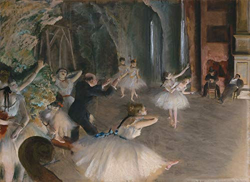 Edgar Degas - The Rehearsal of The Ballet on Stage - Metropolitan Museum of Art - New York, NY 30