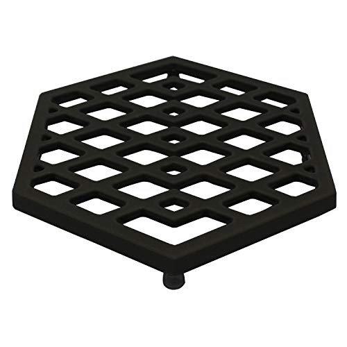MikeGarden Enameled Cast Iron Free standing Trivet in -