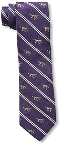 Nick Graham Men's Pointer Tie, Purple ()