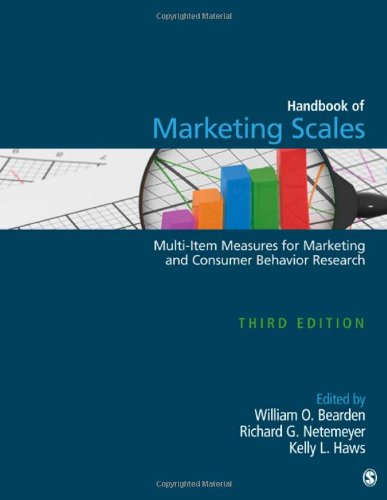 Handbook of Marketing Scales: Multi-Item Measures for Marketing and Consumer Behavior Research (Association for Consumer Research)