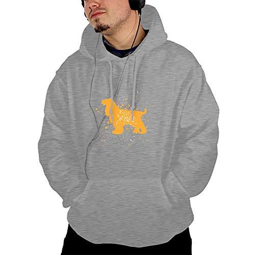 BDZC English Cocker Spaniel Dog Gift Pullover Hooded Sweatshirt Fashion Hoodies Big ()