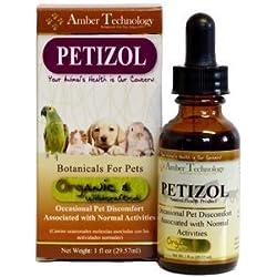 Amber Technology Petizol (formerly Pets Pain Formula) - 1oz
