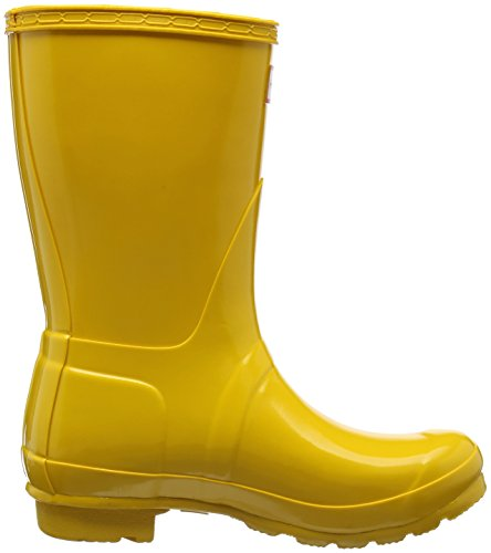Yellow Ryl Jaune et Boots Wellington Femme Bottes Hunter Bottines Low de Pluie aPwpvv