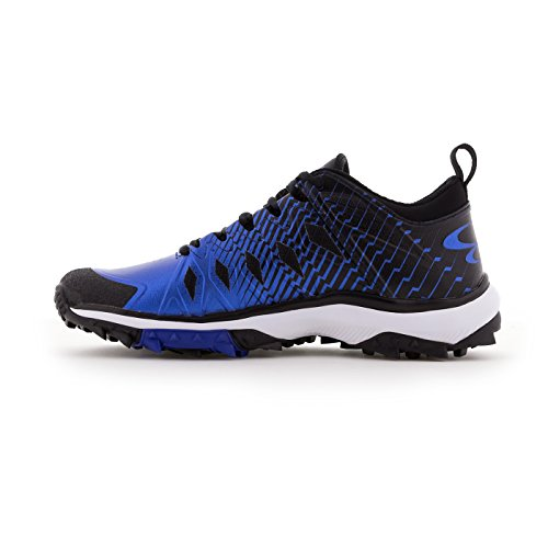 Boombah Mens Squadron Turf Shoes - 20 Color Options - Multiple Sizes Black/Royal kuZrK
