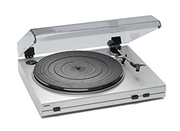 Lenco Turntable USB - Tocadiscos (Plata)