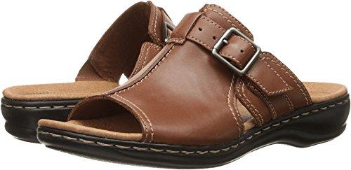 CLARKS Women's, Leisa Gianna Slide Sandal TAN 9 W