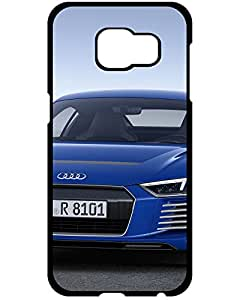 New Arrival Case Cover With Audi R8 2015 Blue Samsung Galaxy S6/S6 Edge Phone case 4952640ZE557243216S6