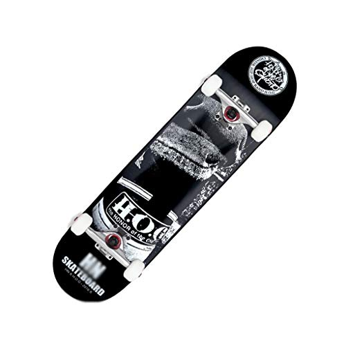 LIUFS-Skateboard Dance Board Four-Wheeled Entertainment Scooter Professional Long Board Beginner Skateboarding Teen Girl Brush Street Long Board Skateboards Skateboarding