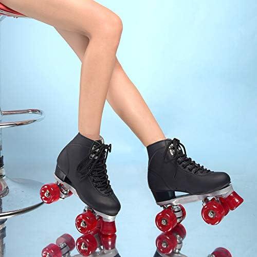 Roller Skates 4-Wheel Skate Shoes