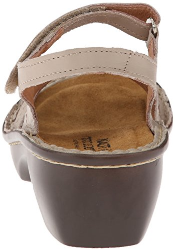 Women's Sandal Paris Linen Leather Naot Wedge xTqwUYqdO