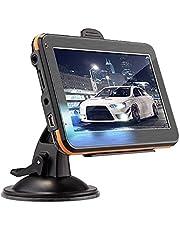 CHENGWANG Navegador GPS para carro, Navegação de carro premium de alto desempenho, leitor de música MP3, motor viva-voz estéreo ABS 256,8 g receptor de áudio automotivo